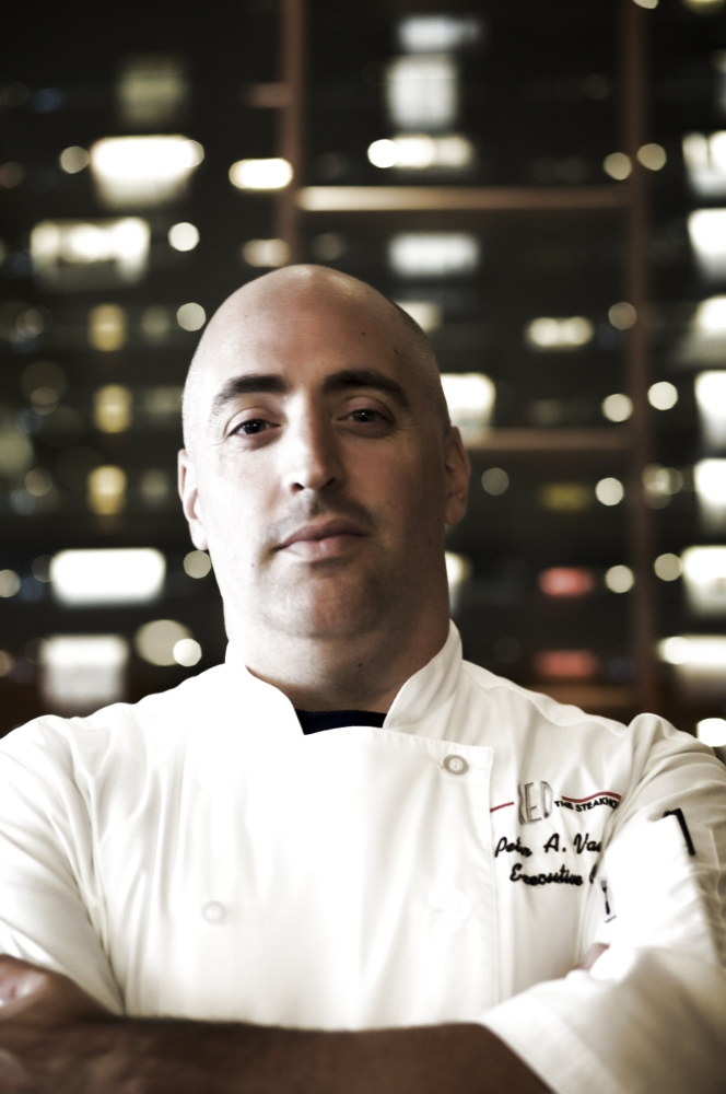 Chef Peter Vauthy of RED Steakhouse