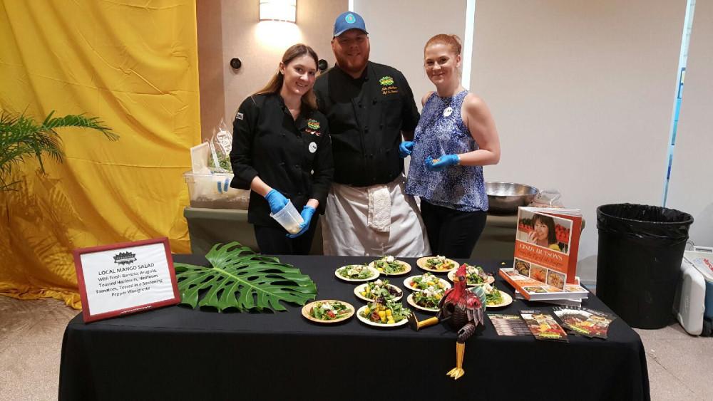 Chef Mike Fischetti of Ortanique on the Mile at miami mango festival brunch