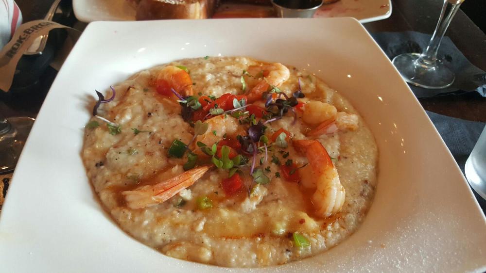 Rok:Brgr brunch shrimp and grits