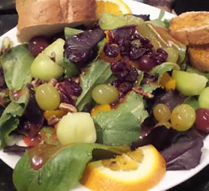 Eastgate Cafe Mandarin orange salad
