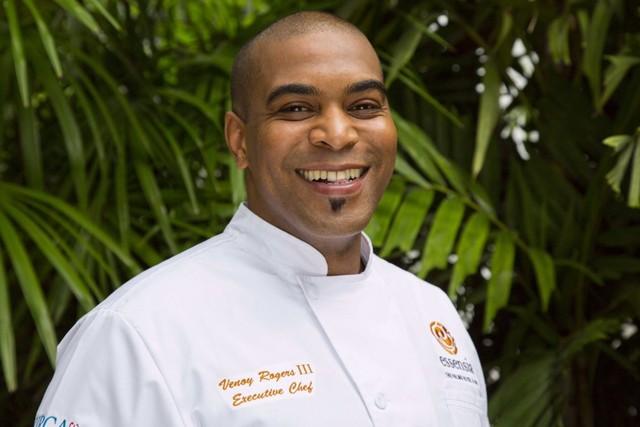 Chef Venoy Rogers