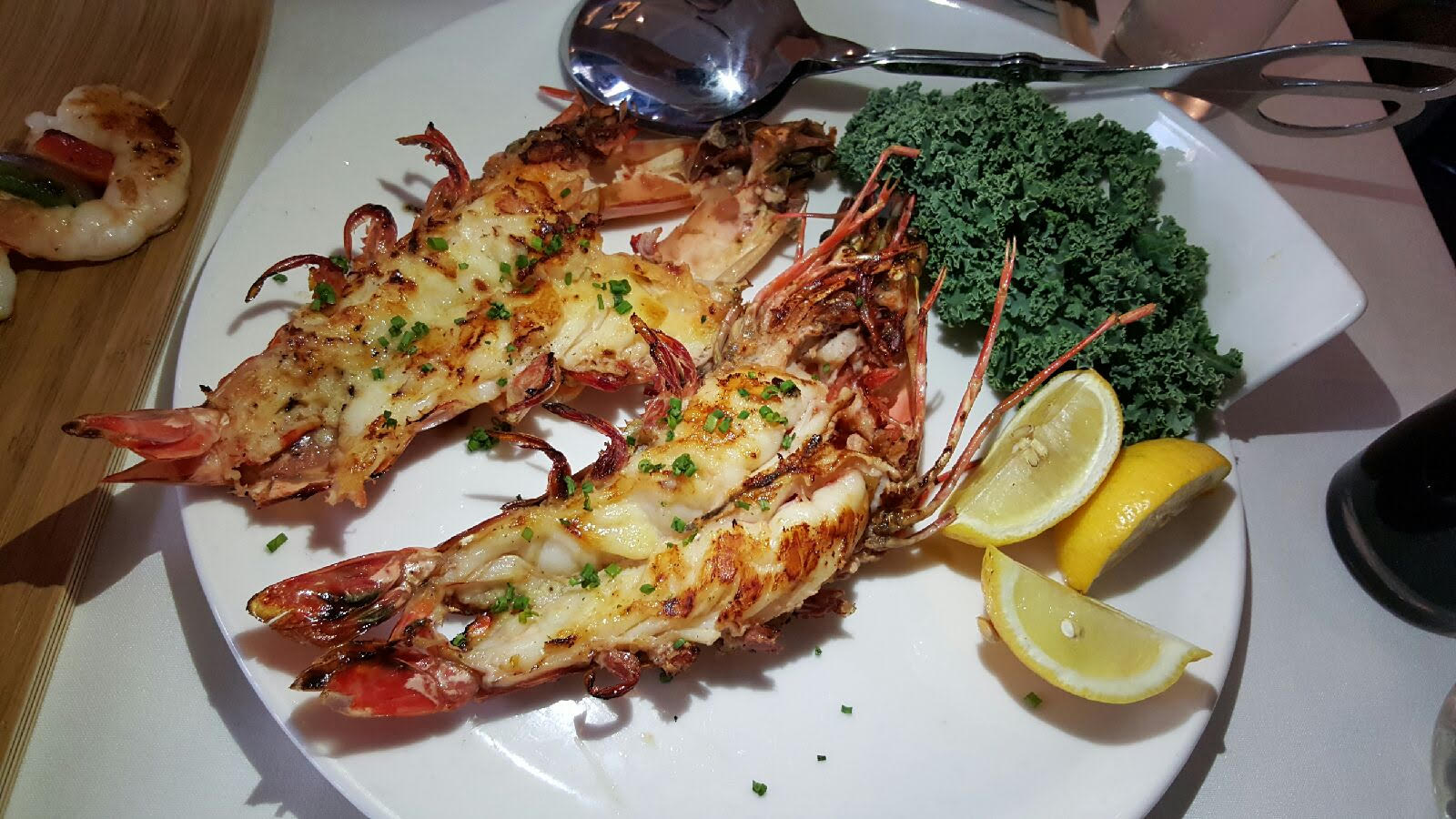 Grilled Langoustines at MesaMar