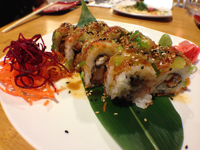 Kokai Sushi Lounge Review Ebi Kani