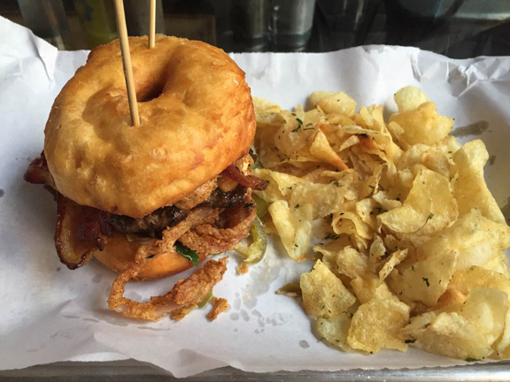 gourdoughs public house review burger donuts hedonist shedonist