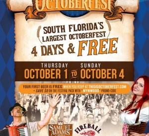 Sam Adams Octoberfest Flyer