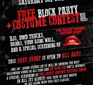 free halloween wynwood block party