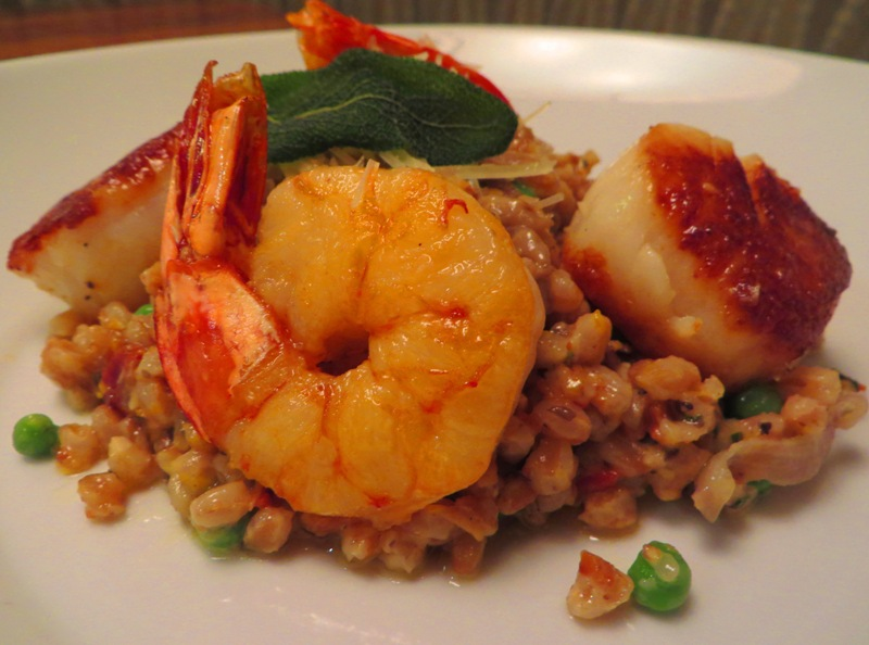 McCoy's Oceanfront Seafood FARRO RISOTTO