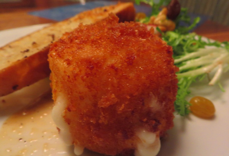 McCoy's Oceanfront WARM BREADED GOAT CHEESE