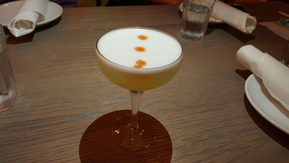 Pisco Y Nazca's traditional pisco sour