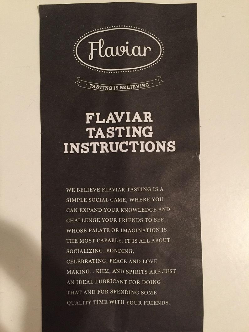 Flaviar Instructions
