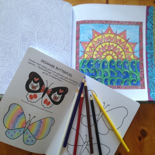 quarto publishing coloring book interior