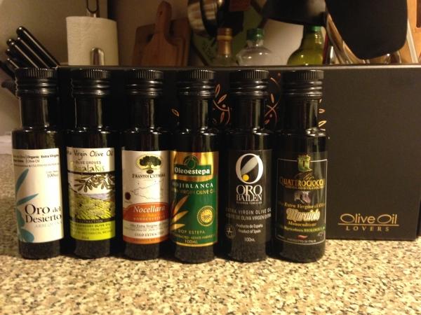 olive oil lovers tasting kit