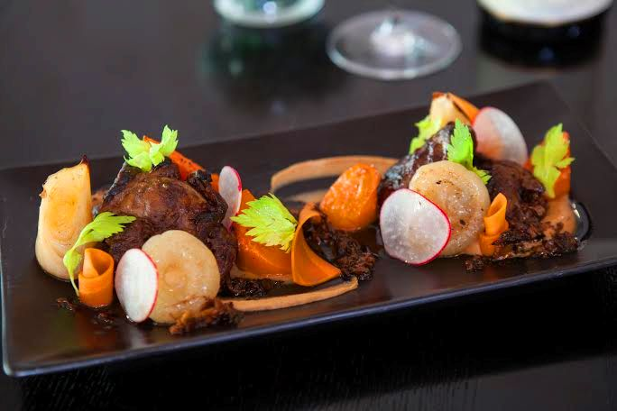 Uvaggio Miami - Sous Vide Pork Cheeks – photo by Ginger Monteleone