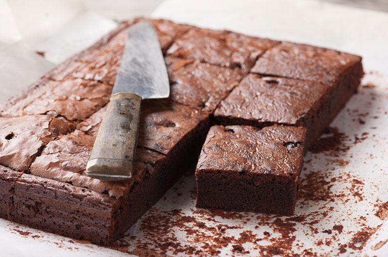 Healthy Dessert Recipes Black Bean Brownies Pan