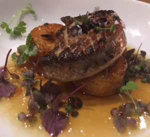 Ariete Foie Gras on ember roasted plantains