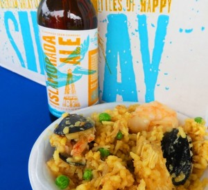 Key Largo Food and Wine Festival - Pelican Cove Resort -Pattigeorges Paella A La Valencia and Sandbar Sunday Ale