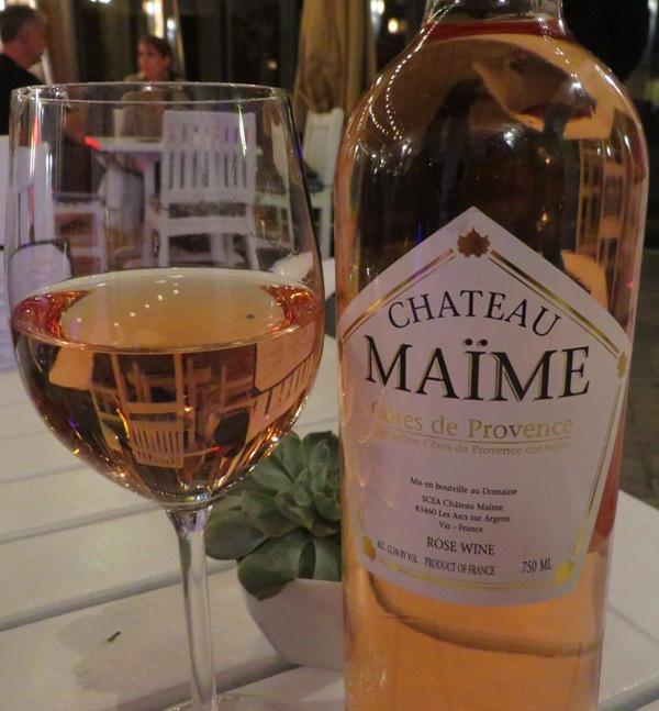 Palmeiras Beach Club – Chateau Maime Cotes de Provence Rose