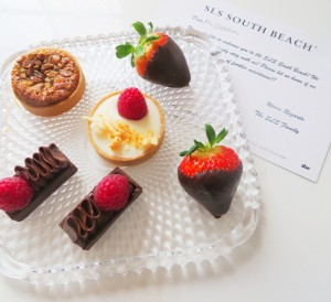 Sip Liquor Slowly – SLS South Beach - welcome sweets