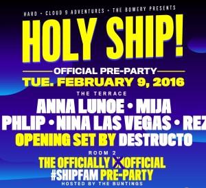 Holy Ship! 2016 February - Miami