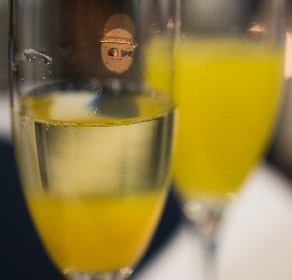 NJWFF Food Prosecco and Pancakes Bellinis