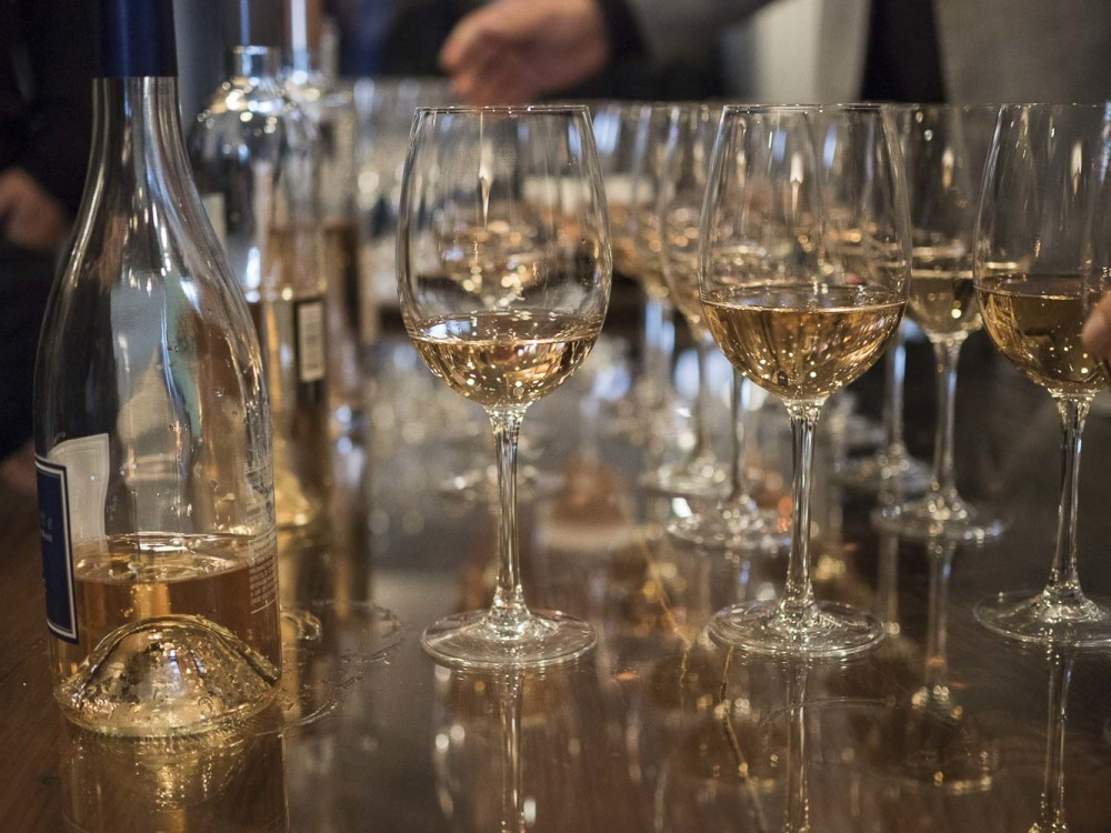 NJWFF Rose and Sorbet wines