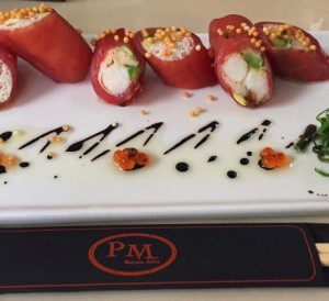 PM Fish and Steak House - Crab and Lobster Rolls