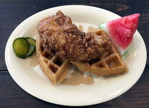 The COOP Winter Park Chicken N' Waffles