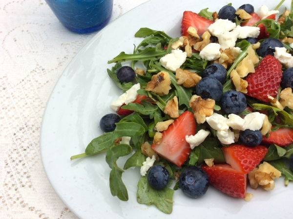 Mother's Day Brunch Fruit Salad Close