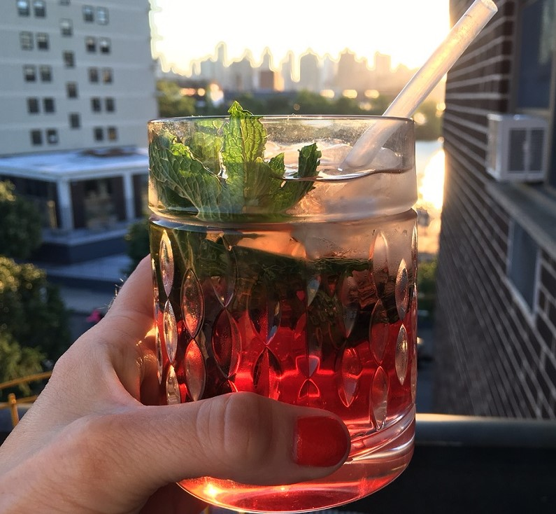 Simple Summer Cocktail Recipes Rum and Grenadine