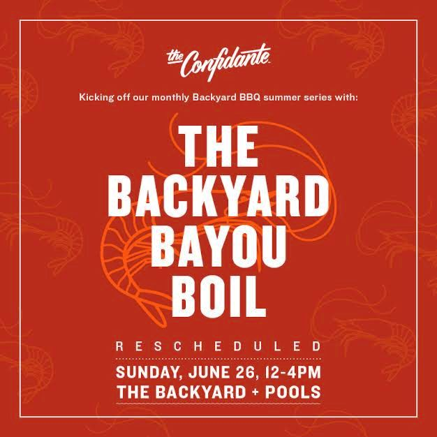 Backyard Bayou Union City Ca: The Confidante Heats Up Summer With A Monthly Backyard BBQ
