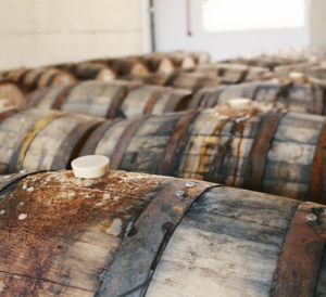 Dovetail Brewery Barrels