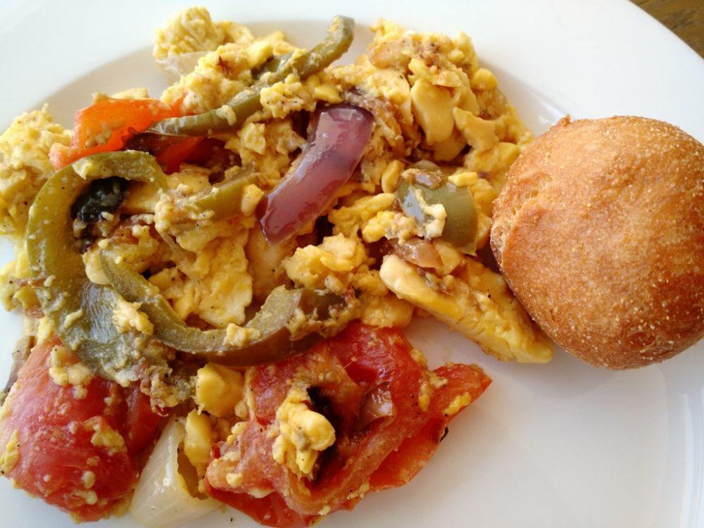 jamaican breakfast at hedonism II