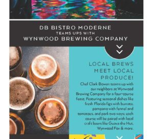 db Bistro Moderne Dinner with Wynwood Brewing Compan