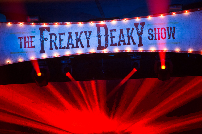 Freaky Deaky Banner