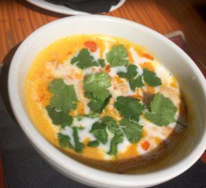 Sugarcane carrot soup