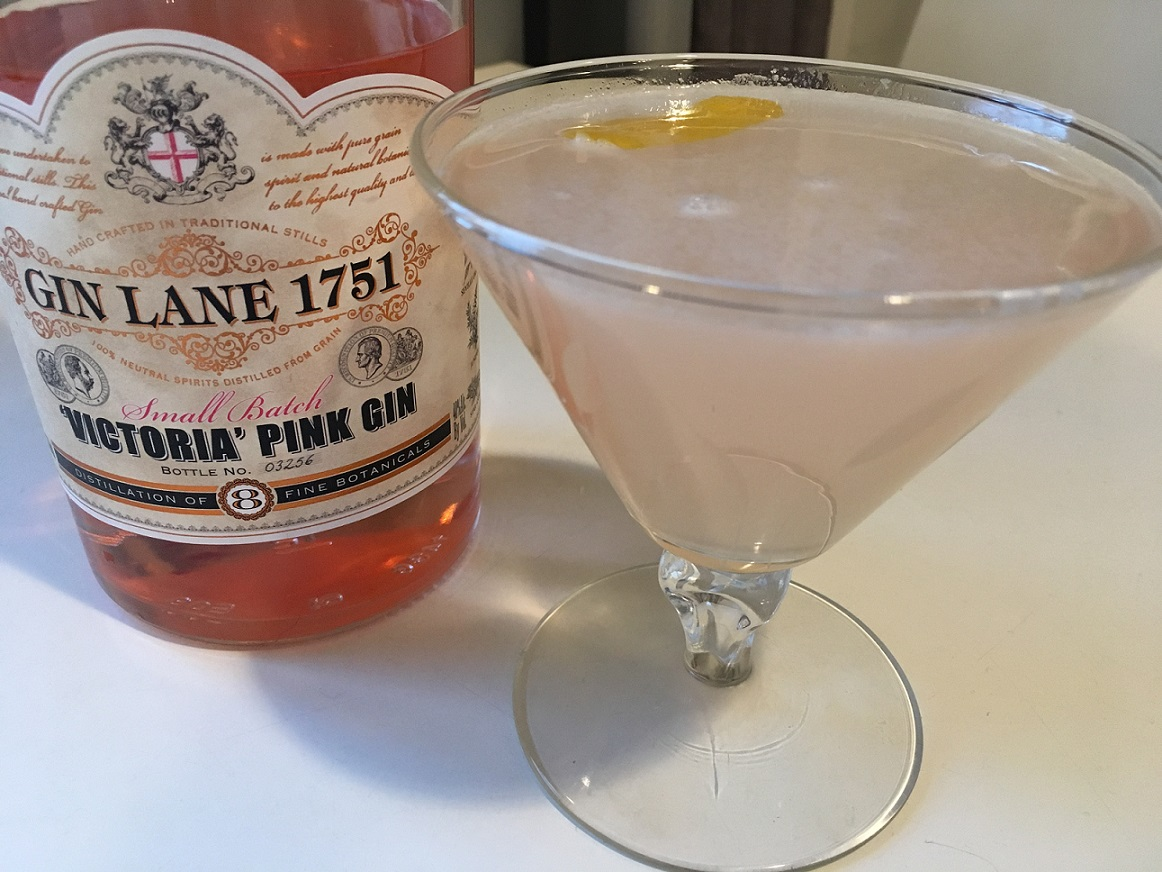 Valentine's Day Cocktail Victoria Pink Gin Lane Rickey