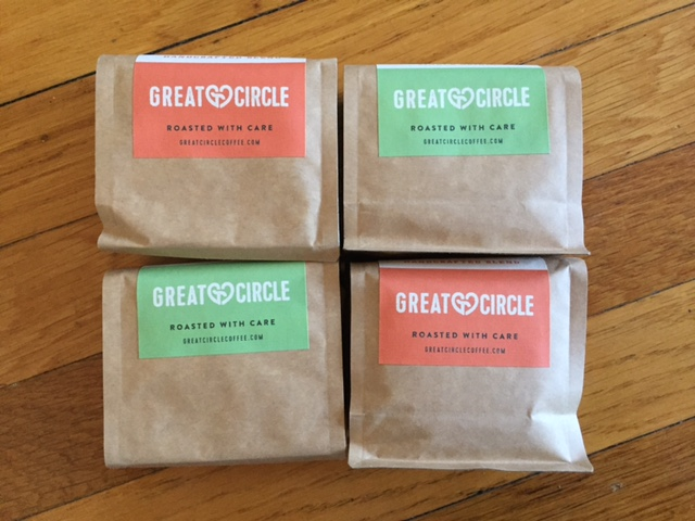 Great Circle Coffee beans