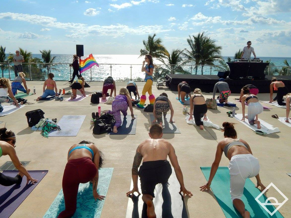 DAYBREAKER MIAMI YOGA