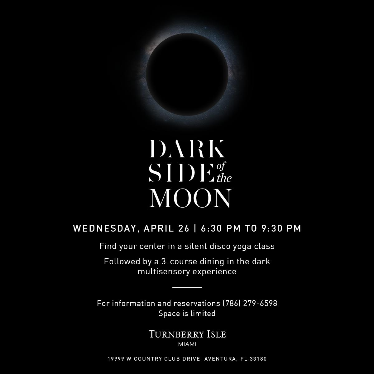 Dark Side of the Moon at Turnberry Isle Miami