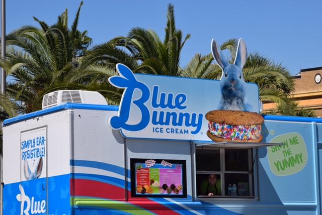 Blue Bunny Ice Cream Sandwich Truck