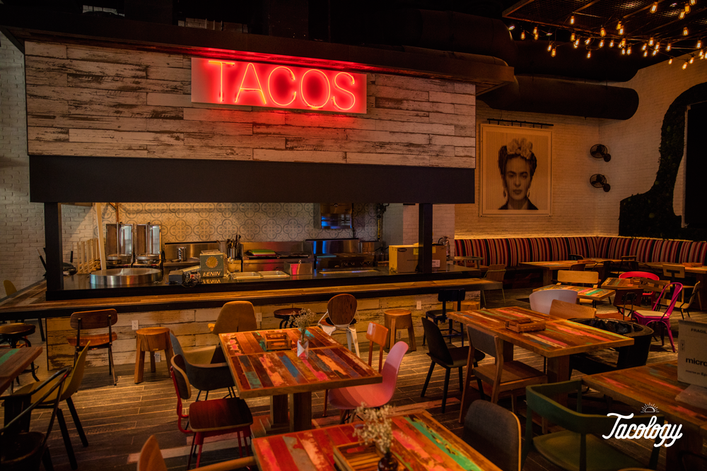 Tacology Tacos Dining Room