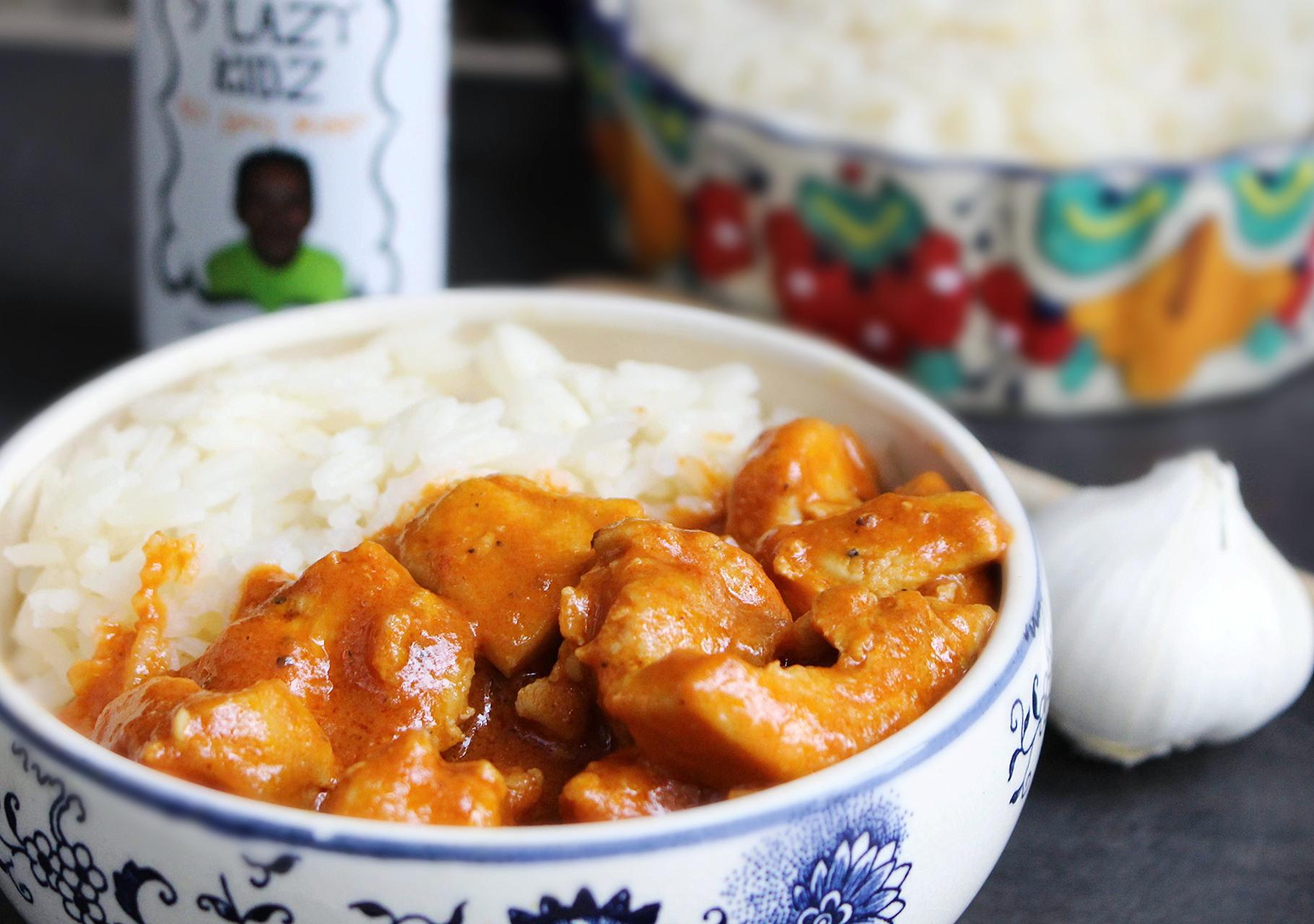9 Lazy Kidz Curry Chicken