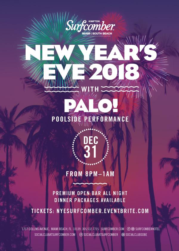 Palo New Year Eve 2018