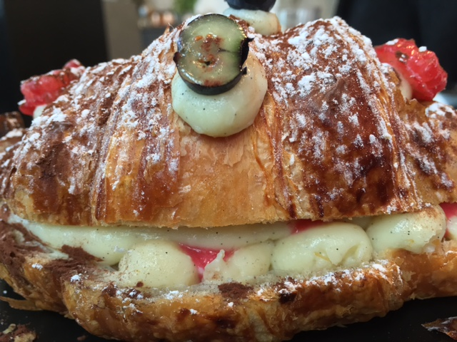 LaMuse Cafe Stuffed Croissant