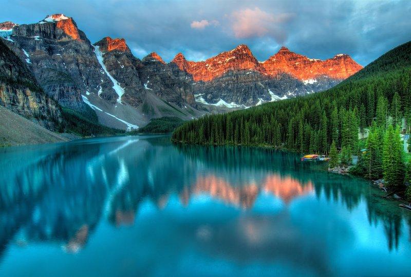 beautiful places moraine lake